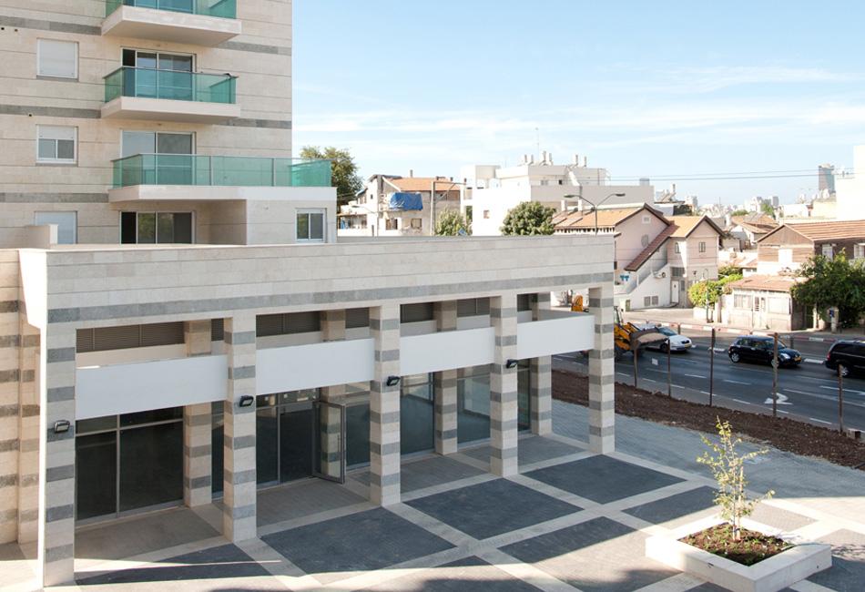 אדיר פרויקט דונה דואט - שטח מסחרי של דונה בתל אביב יפו | יד2 XJ-65